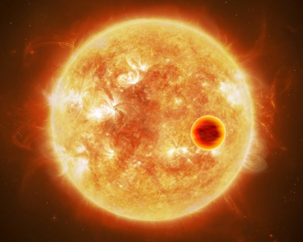Exoplanet, hot exoplanet, star, parent star, space, planet
