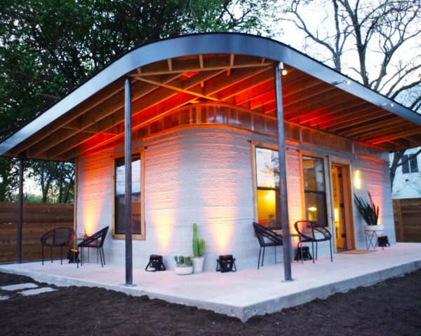 ICON, New Story, Austin, 3D-printed house, 3D-printed home, home, house