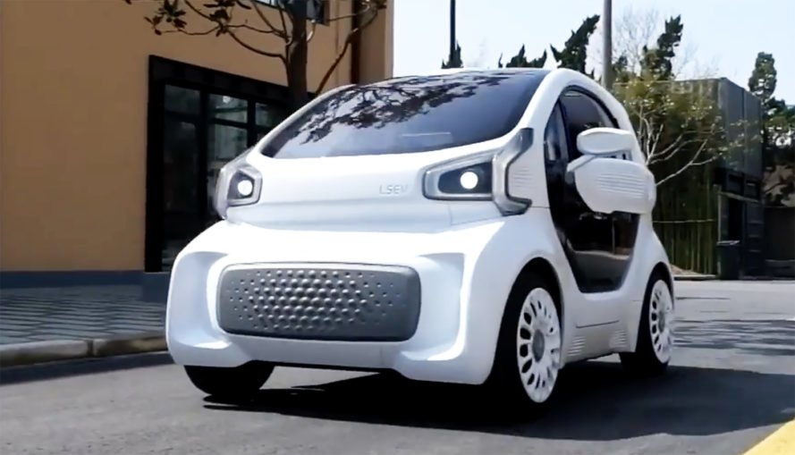 XEV, Polymaker, 3D-printed car, LSEV, electric car, electric vehicles, urban cars, cheap cars, tiny cars, green cars, 3D-printing, green auto