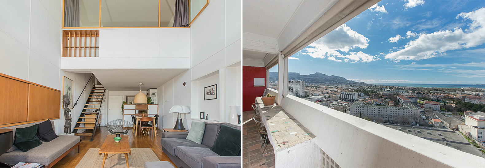 Light Filled Apartment In Le Corbusier S Cité Rause Hits The Market For 741 000