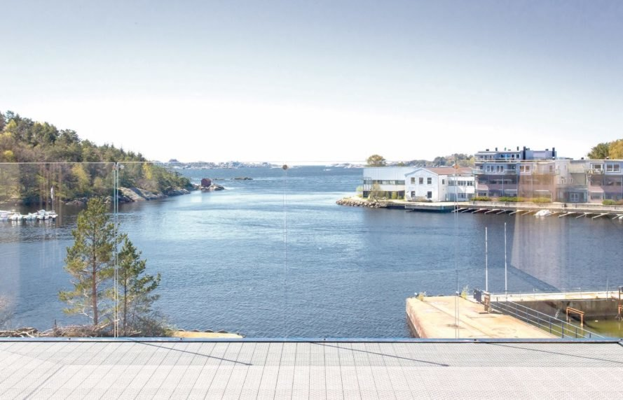 Mandal Slipway Housing Complex by Reiulf Ramstad Arkitekter, Mandal modern housing, timber housing in Mandal, Mandal Slipway Housing Complex, zigzagging roof residence, contemporary housing in Mandal