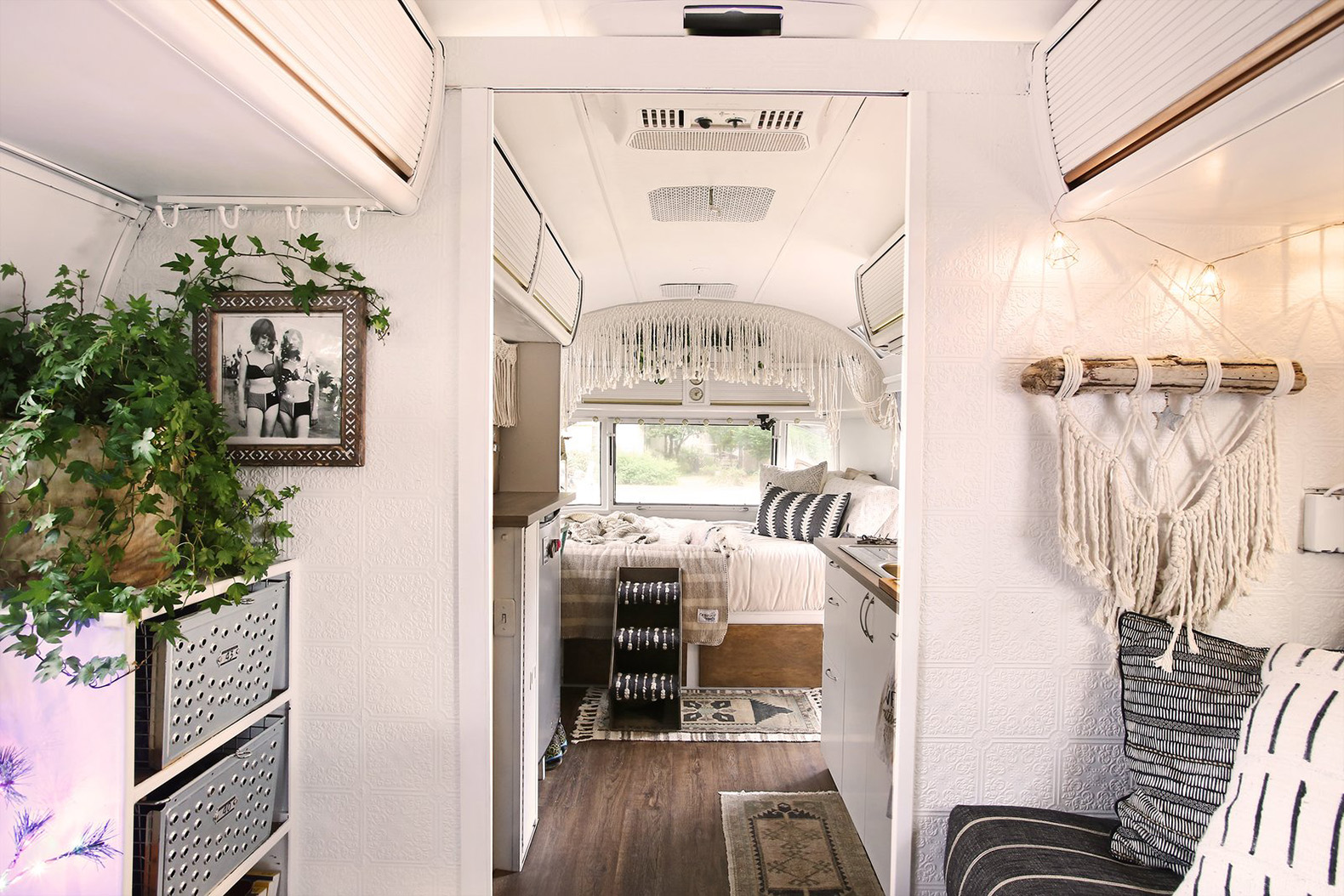 Small Airstream Trailer >> This adventurous couple revamped an old Airstream into a ...