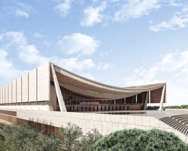 Ghana architecture by David Adjaye, David Adjaye African architecture, National Cathedral Ghana by David Adjaye, National Cathedral Ghana by Adjaye Associates, National Cathedral Accra, National Cathedral Ghana, multi-faith architecture in Africa,