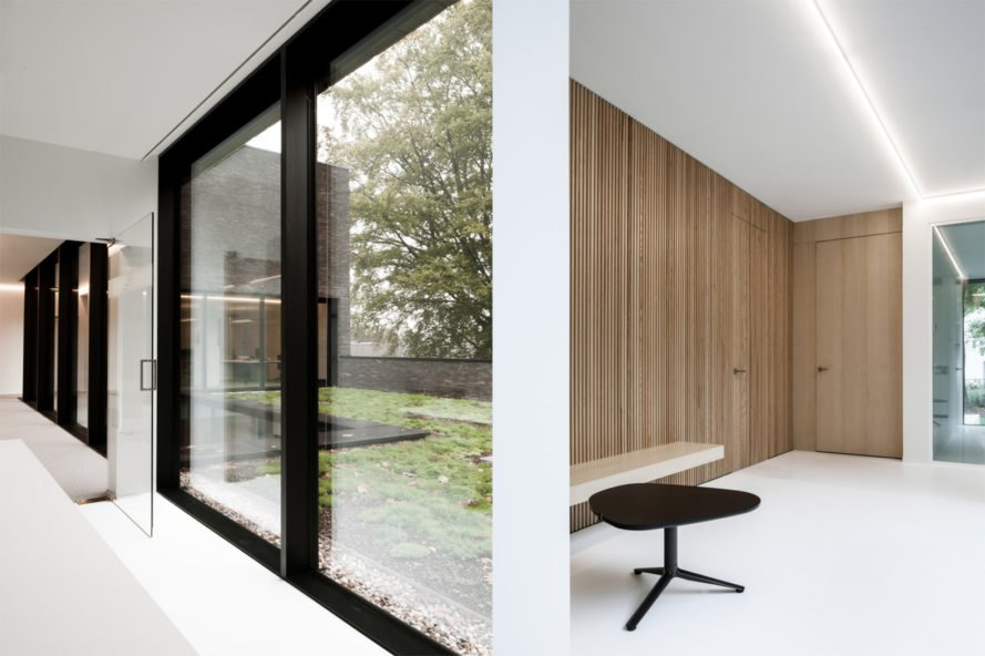 Notary Office by Abscis Architecten, Notary Office in Ghent, energy efficient office in Ghent, energy efficient office architecture Belgium, natural lighting in office design, Notary Office in Belgium