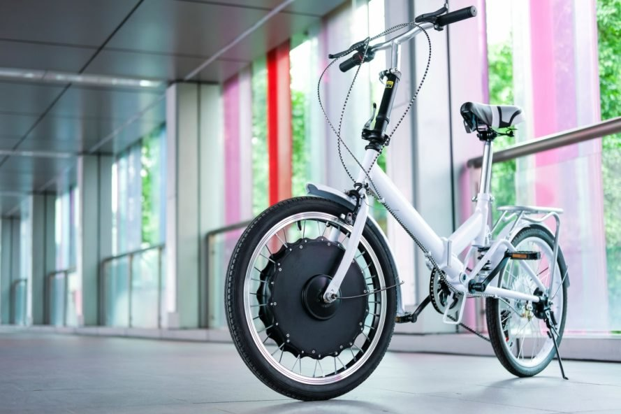 EvoWheel converts almost any bicycle into an electric bike