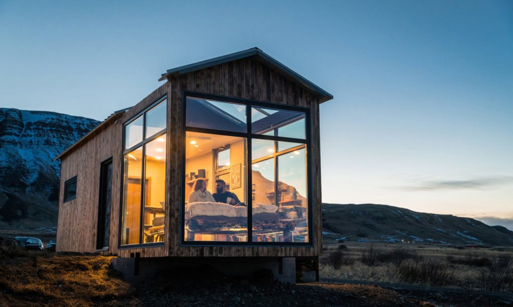 This Glass Cabin In Iceland Lets You Watch The Northern