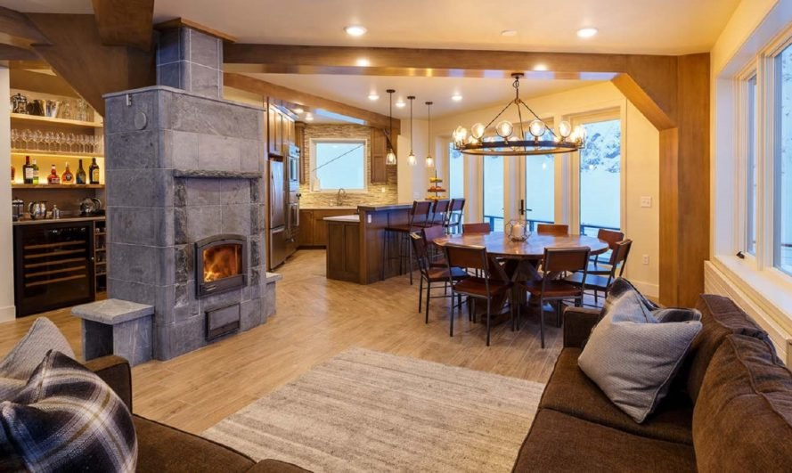 Sheldon Chalet, chalet, Alaska, luxury resort, glacier, ski resort, green architecture, extreme weather, fireplace, northern lights