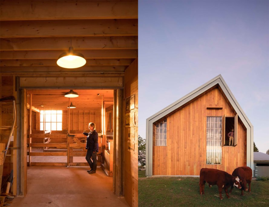 Swallowfield Barn By MOTIV Architects Contemporary Farmhouse Architecture