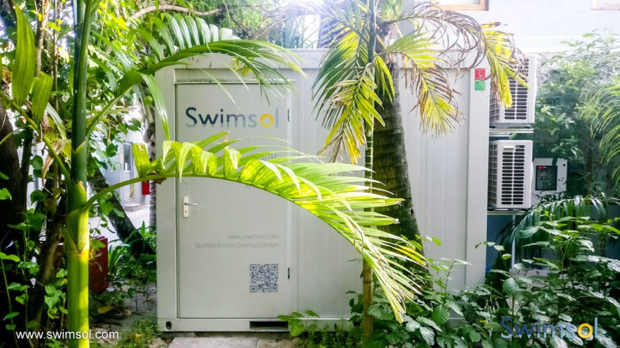 Swimsol, power, electricity, Maldives, renewable energy, trees, nature