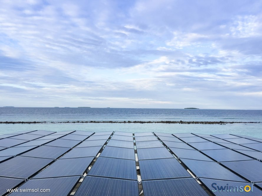 Swimsol, SolarSea, floating solar, solar power, solar energy, renewable energy, solar panels