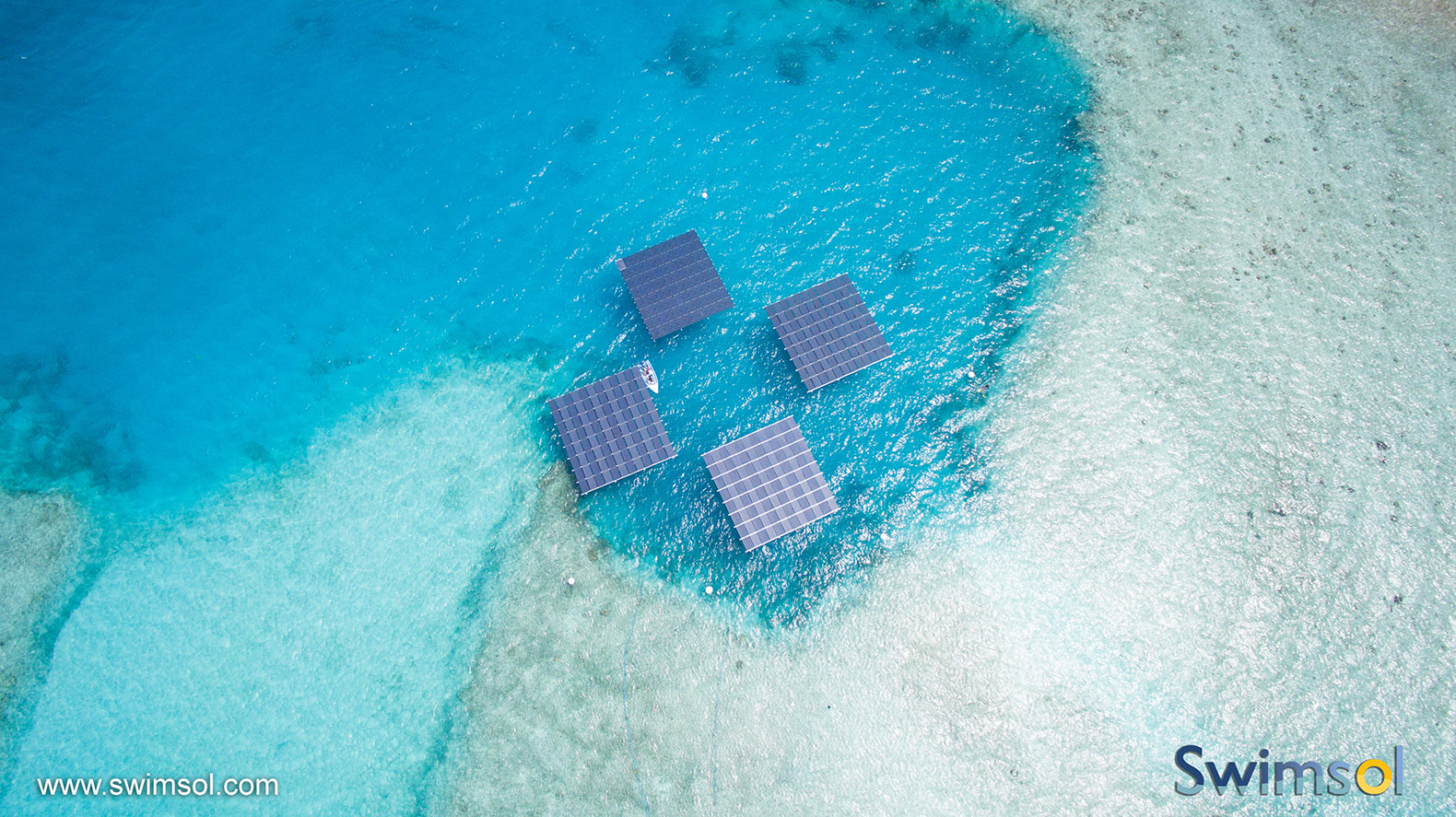 How floating solar panels are helping the Maldives ditch diesel fuel