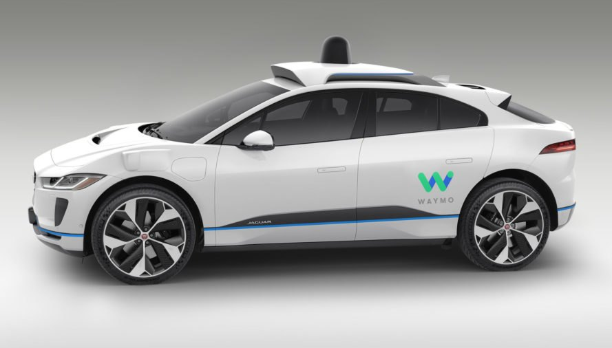 Waymo self-driving car, Waymo autonomous vehicle, Waymo self-driving SUVs, Waymo self-driving SUV, self driving SUVs, all electric SUVS, different kinds of electric SUVs, ridesharing service, ridesharing Waymo, Google self-driving car, Google autonomous vehicles, Google's autonomous vehicles, Alphabet self-driving cars, self-driving cars technology, Waymo Jaguar, Jaguar SUVs,