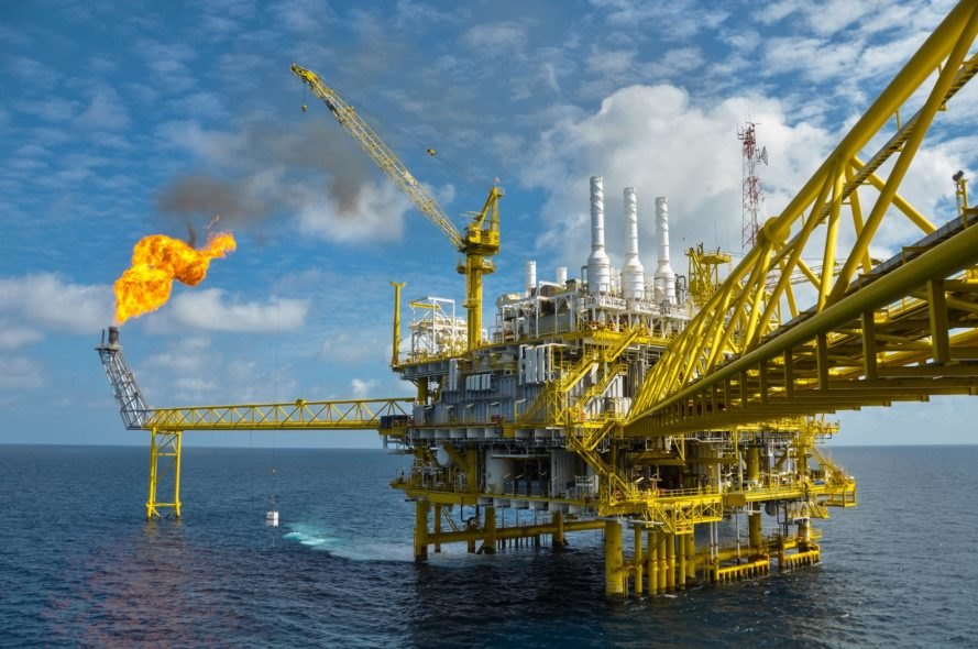 oil platform, oil, oil drilling, greenhouse gas