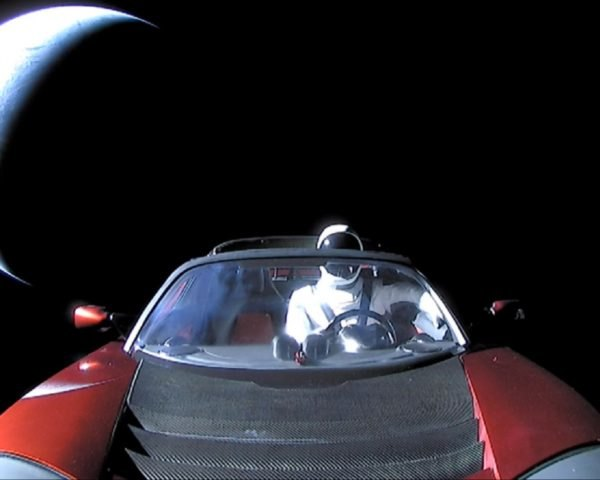 Starman, Tesla Roadster, Starman Tesla Roadster, Starman SpaceX, Starman Elon Musk, Elon Musk Tesla Roadster in Space