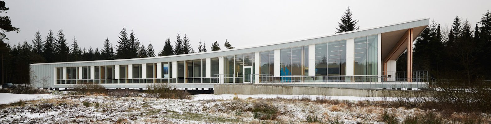 Østerild Visitors and Operation Center by Cubo Arkitekter