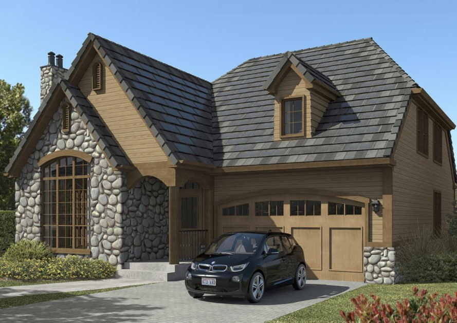 Solar Panel Roof Shingles >> New 3 In 1 Roof Solar Tiles Power Your House For Half The Price Of A