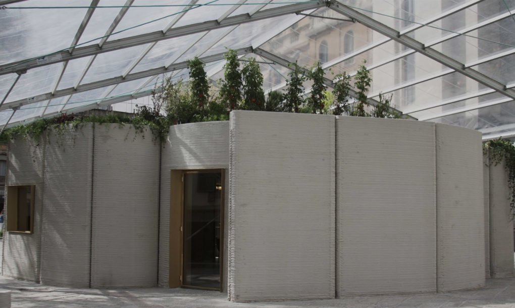 3d printed house by arup and cls architetti pops up in 48 for 3d printed house model
