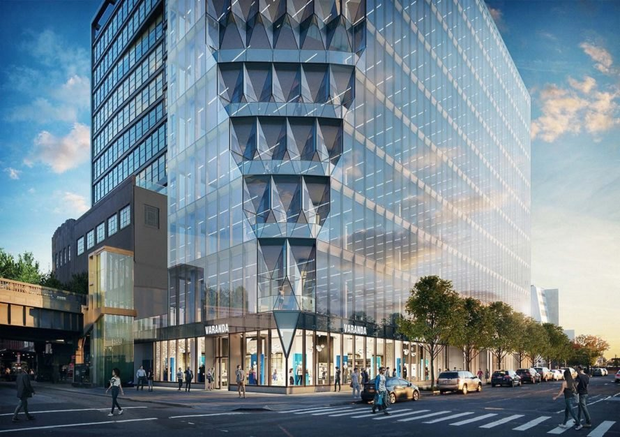 Studio Gang's 40 Tenth Avenue tower is in New York City's Meatpacking District