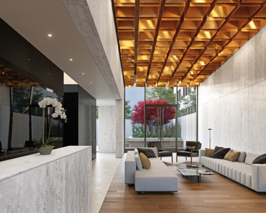 570 Broome, Builtd, 570 Broome by Builtd, Skidmore Owings & Merrill, lobby, condominium, New York City
