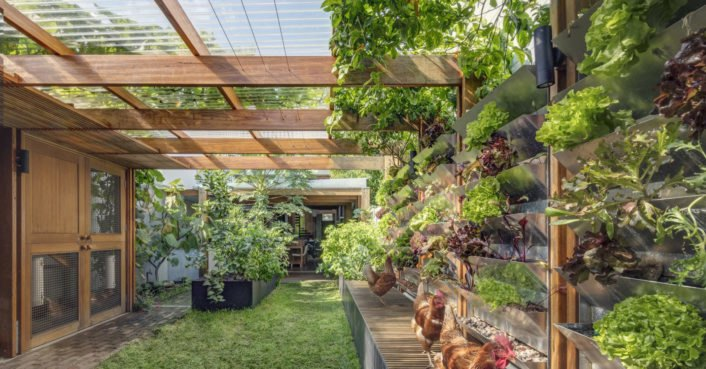 This self-sustaining Australian home harvests its own food, energy,