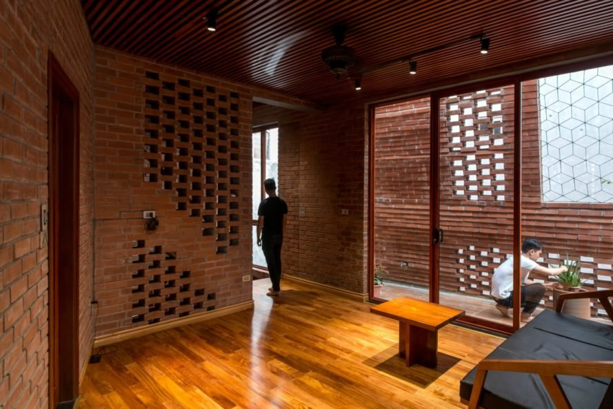 H&P Architects, Brick Cave, brick home, brick building, brick architecture
