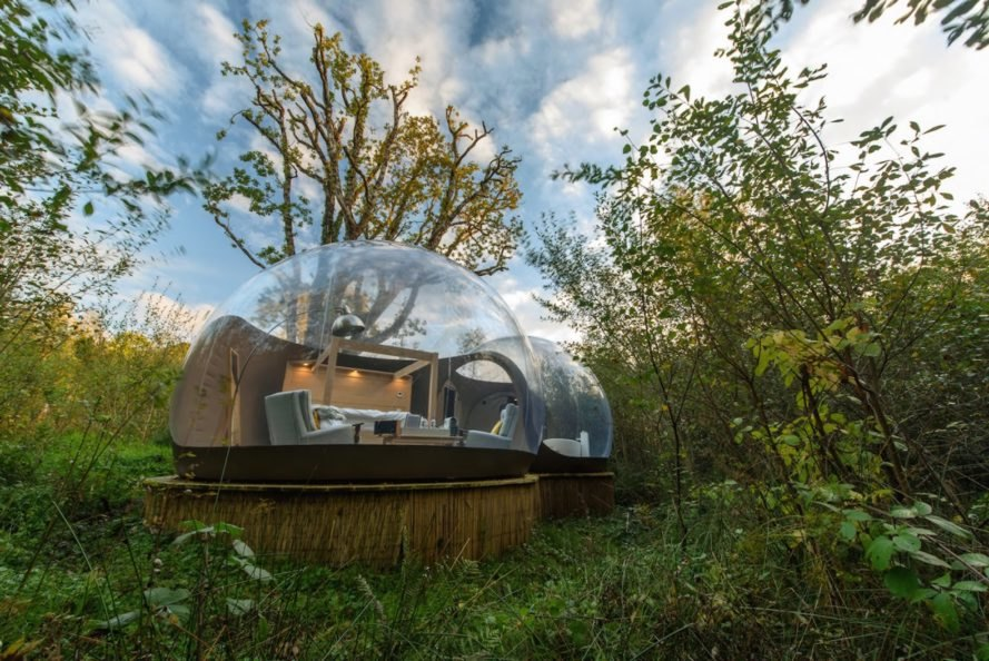 Sleep Beneath The Milky Way In These Amazing Bubble Domes