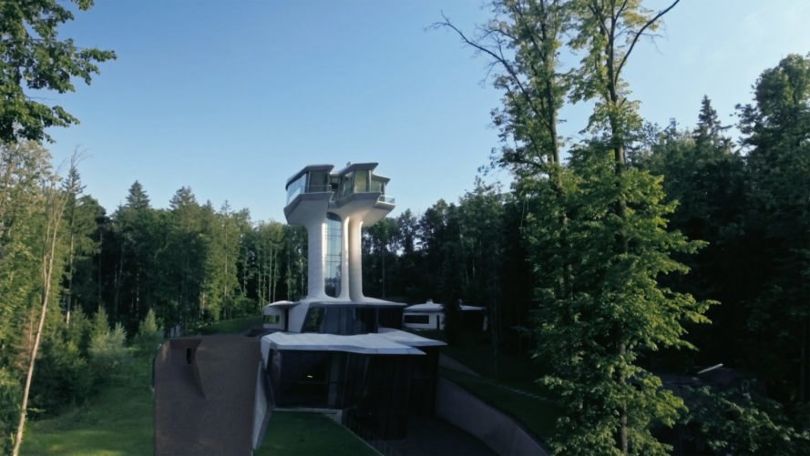 Capital Hill Residence by Zaha Hadid Architects, Capital Hill Residence in Russia, Capital Hill Residence Vladislav Doronin, Vladislav Doronin house, Zaha Hadid residential, Zaha Hadid housing, OKO Group Hadid house