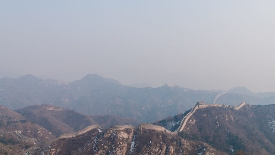 China's Great Wall landscape near Beijing