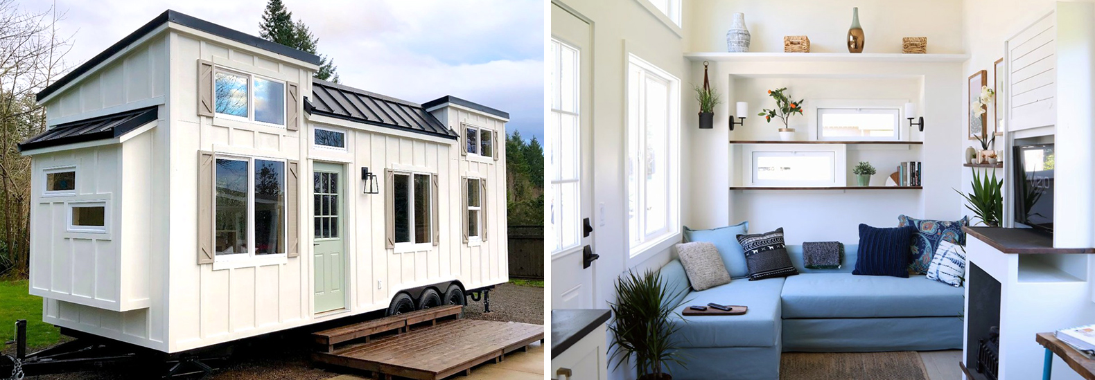 Tiny Home Designs: Handcrafted Movement's Coastal Craftsman Tiny House Is Big