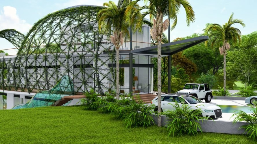 Cocoon Smart Home, Richard's Architecture + Design, Cocoon Smart Home by Richard's Architecture + Design, off-grid home, self-sufficient home, smart home, Dominican Republic, cars