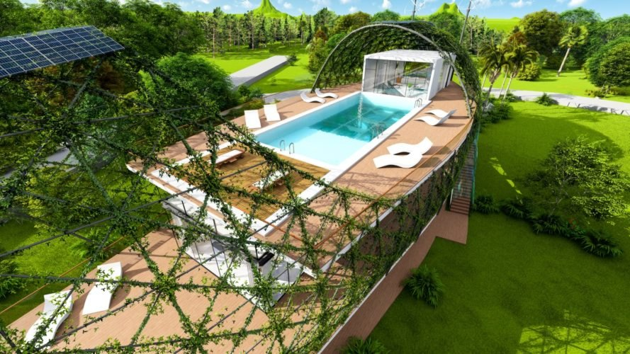Cocoon Smart Home, Richard's Architecture + Design, Cocoon Smart Home by Richard's Architecture + Design, off-grid home, self-sufficient home, smart home, Dominican Republic