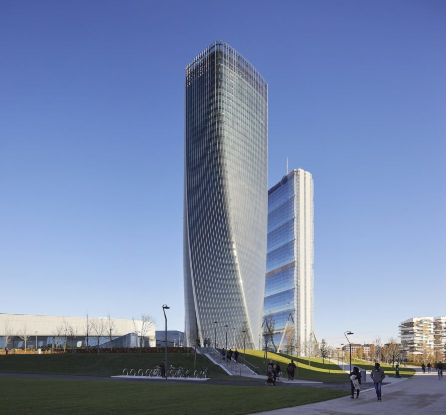 CityLife development Generali Tower by Zaha Hadid Architects