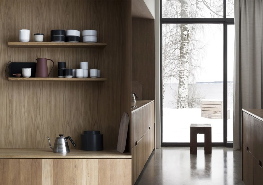 Gjøvik House by Norm Architects, Norway hygge architecture, hygge house architecture, Gjøvik House, timber-clad Norway modern architecture, natural material palette hygge