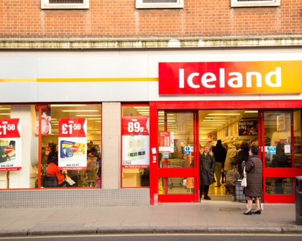 Iceland, London, United Kingdom, supermarket, supermarkets, grocery store, grocery stores