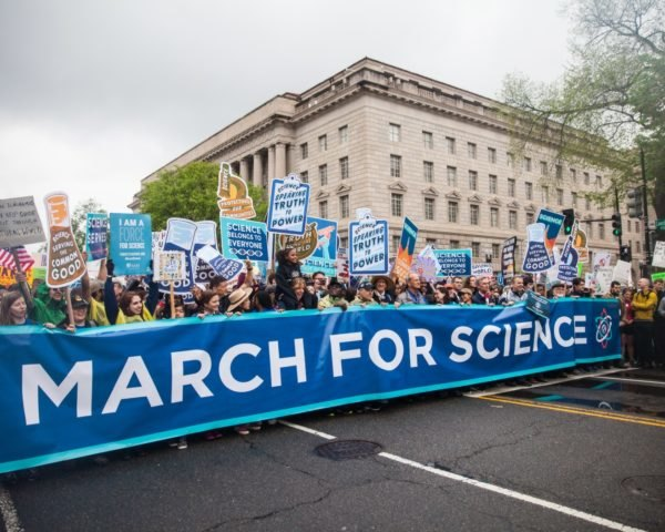 March for Science, march, protest, science, marchers, signs, scientists