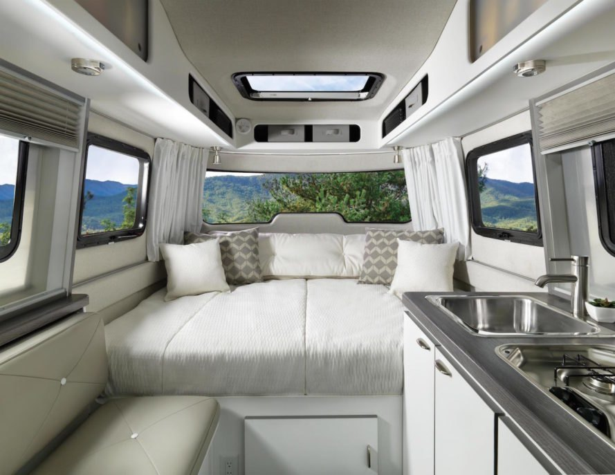 Airstream Launches Nest Its First Ever Fiberglass Camper