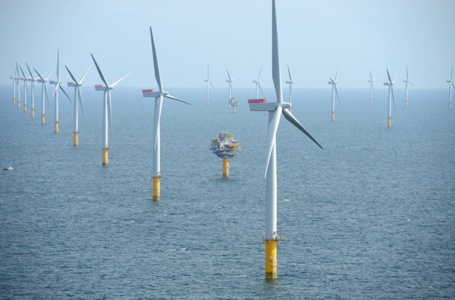 Sheringham Shoal Offshore Wind Farm, England, offshore wind, offshore wind power, offshore wind energy, wind energy, wind power, wind turbines