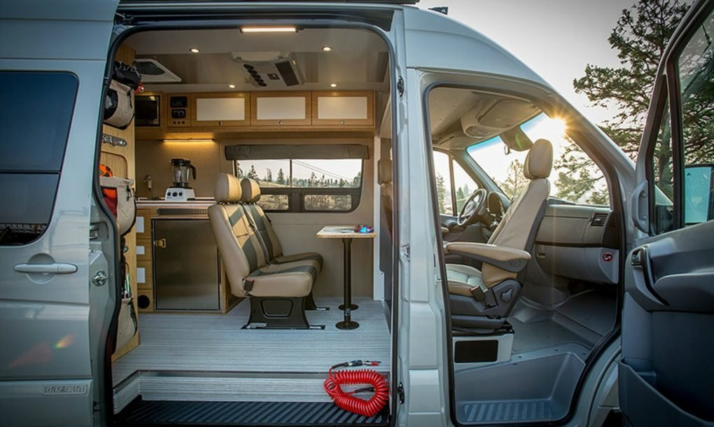 Outside Van S Powerstation Is A Rugged Yet Luxurious Tiny