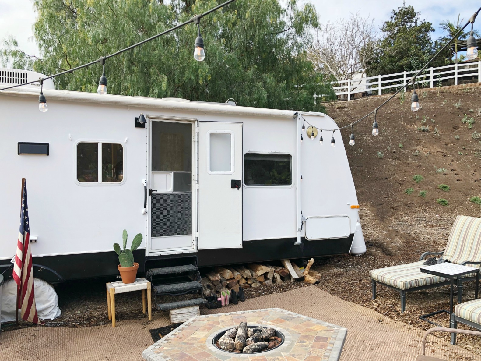 This couple turned an old RV into a five-person home for just $3,000