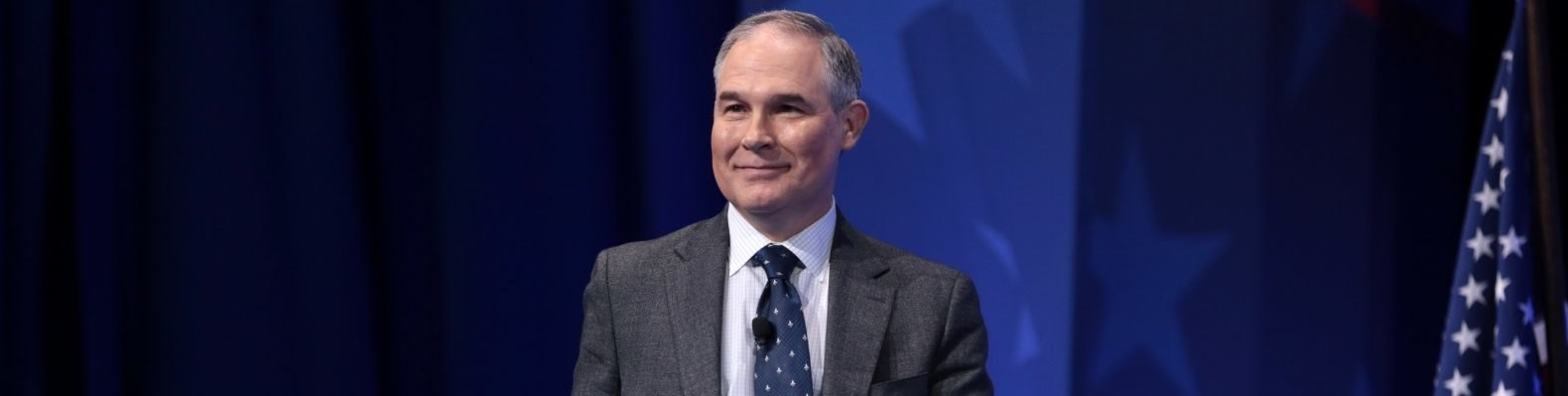 Environmental Protection Agency (EPA) administrator Scott Pruitt at the Conservative Political Action Conference