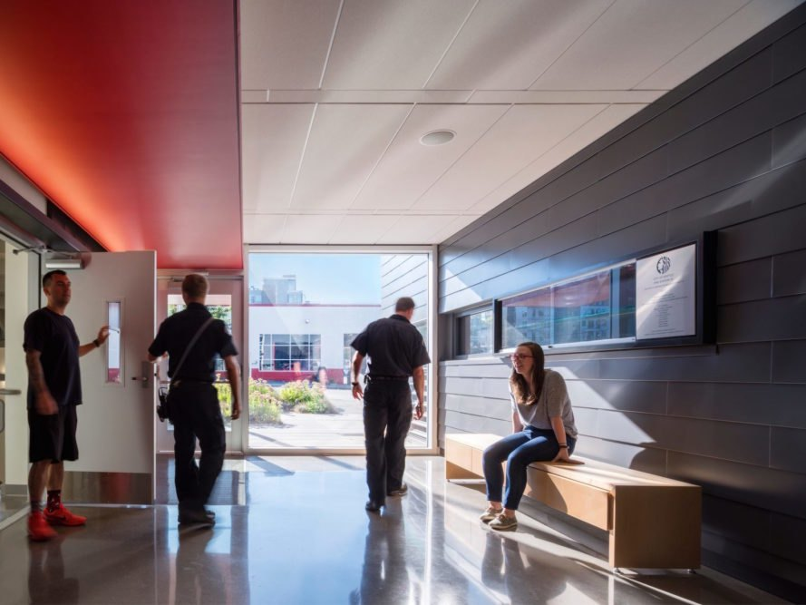 Interior Seattle Fire Station 32 by Bohlin Cywinski Jackson