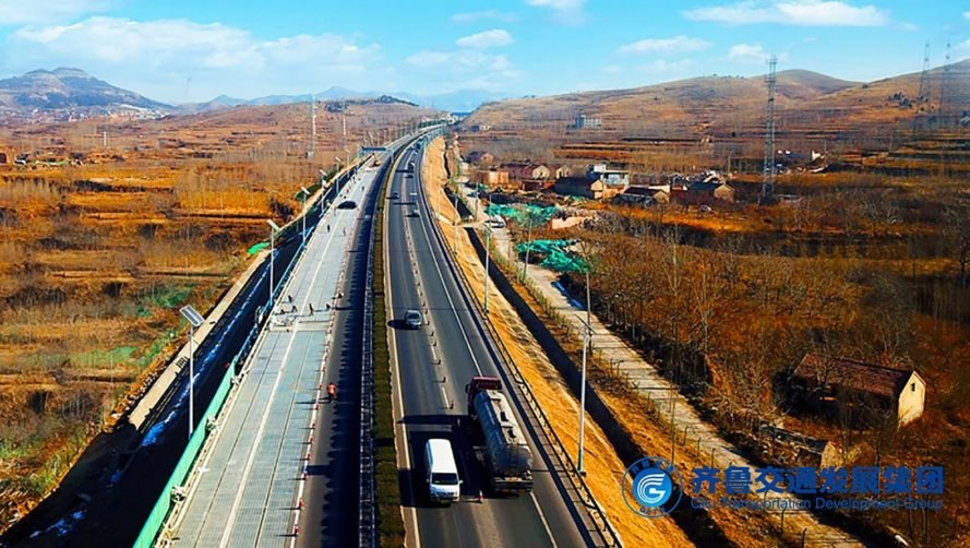 Qilu Transportation Development Group, Jinan, China, solar road, solar roads, solar panels, highway