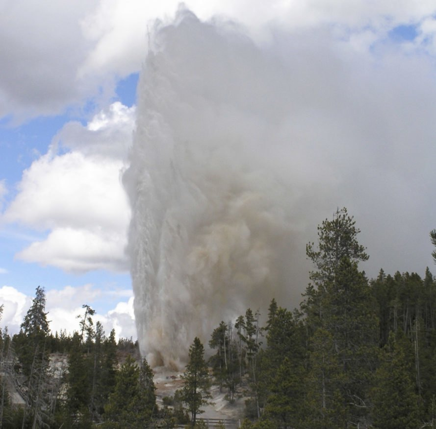 Yellowstone's Steamboat Geyser sees unusual amount of activity