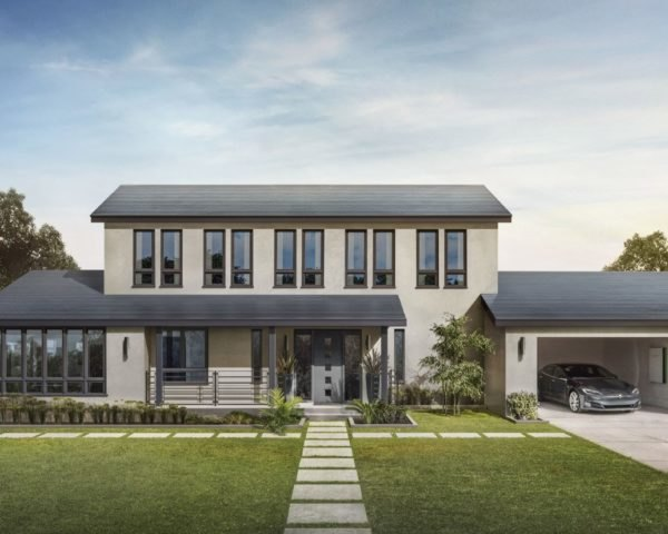 Tesla, Solar Roof, Tesla Solar Roof, smooth glass tiles, house, roof