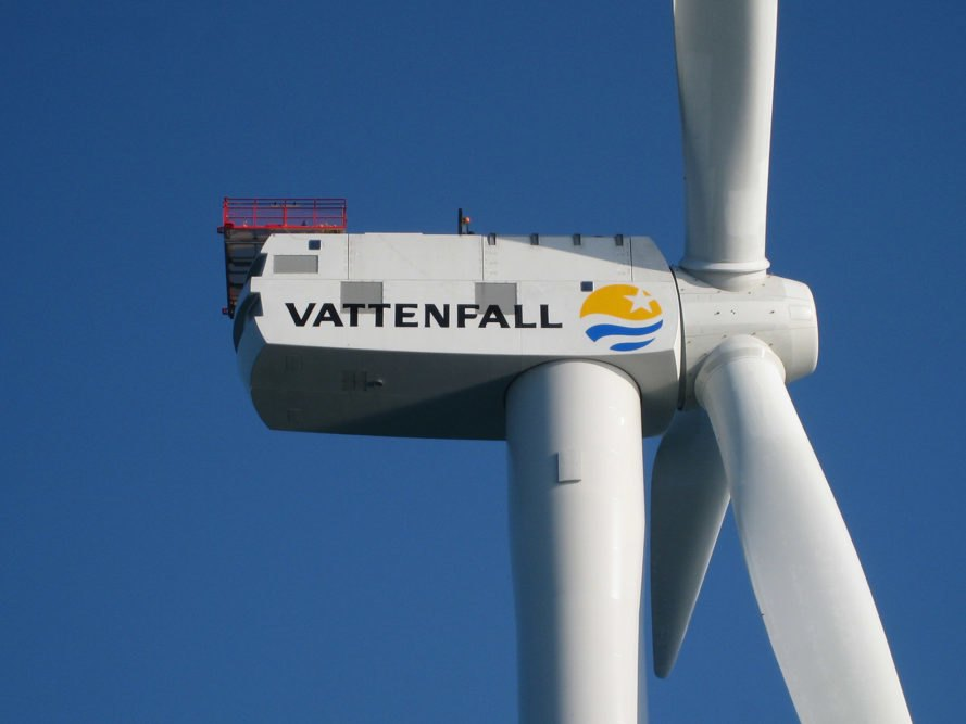 Vattenfall, wind turbine, offshore wind turbine, where is the most powerful wind turbine, most powerful wind turbine, world's most powerful wind turbine, Vattenfall Scotland, Vattenfall Aberdeen, Aberdeen wind farm, offshore wind, Aberdeen offshore wind, EOWDC European Offshore Wind Deployment Centre