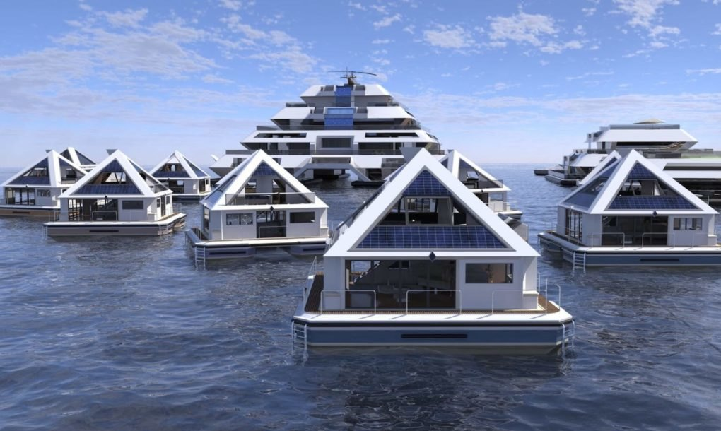 Pierpaolo Lazzarini S Floating Pyramid City Is Designed To