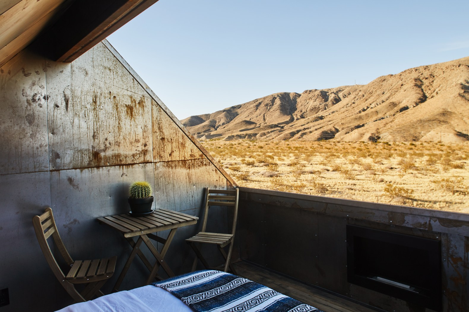 Tiny Steel Cabins In Joshua Tree Epitomize Off Grid Design