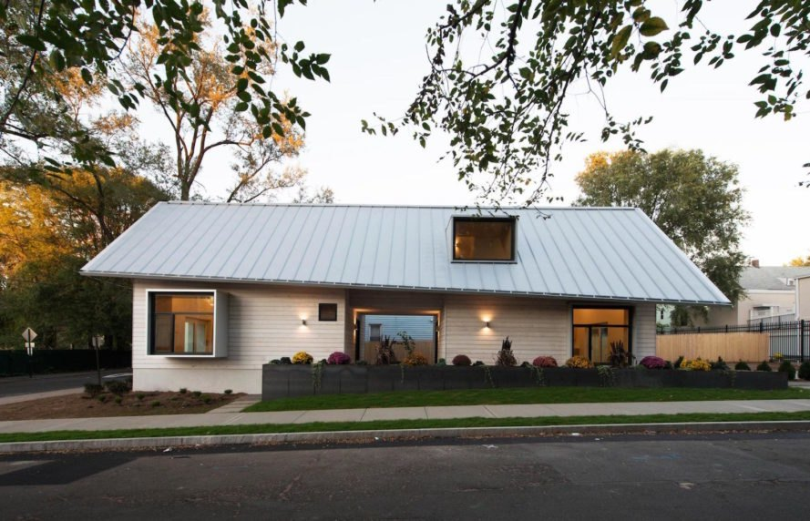 standing seam roof 2017 Jim Vlock First Year Building Project