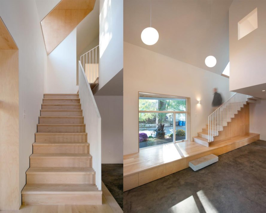 airy interior 2017 Jim Vlock First Year Building Project