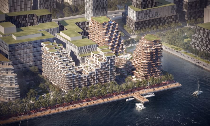 dali creative area by pwd architecture architects in my area 3XN breaks ground on Aquabella, a LEED-certified building on Torontou0027s  waterfront